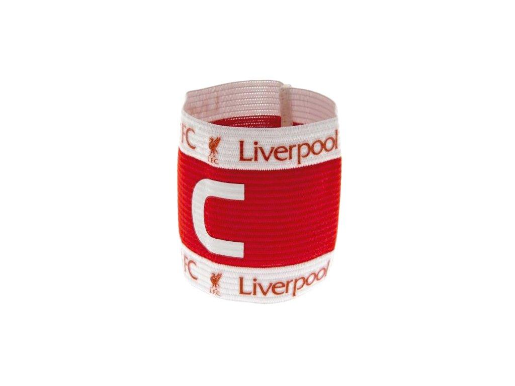 Kapitánská páska Liverpool FC red