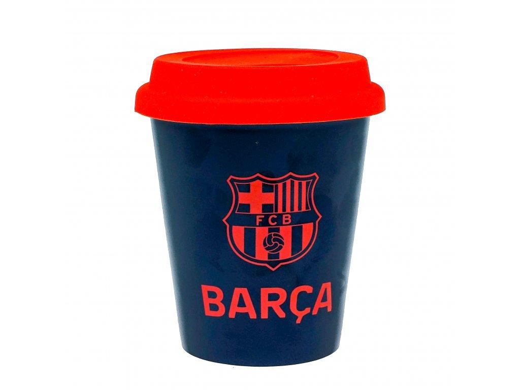 Keramický hrnek na kafe FC Barcelona 250 ml