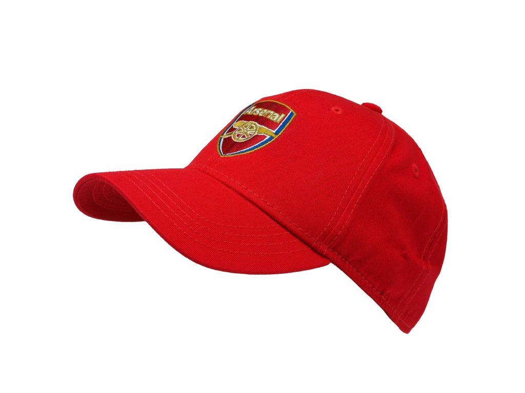 Kšiltovka Arsenal FC crest red
