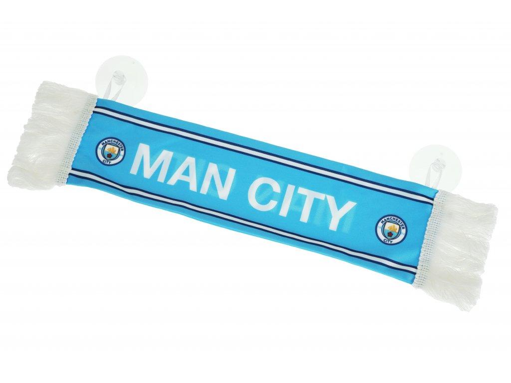 Mini šála Manchester City s přísavkou