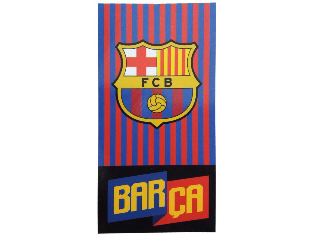 Osuška FC Barcelona 19 barca 70x140cm
