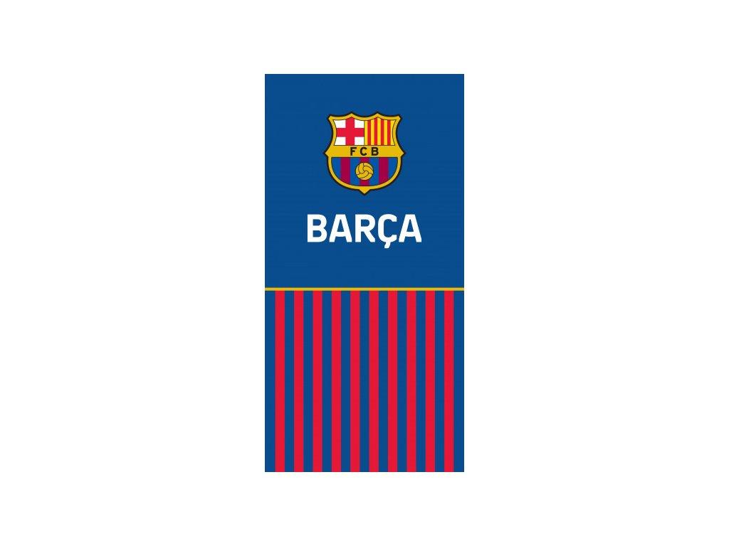 Osuška FC Barcelona 20 straight 70x140cm