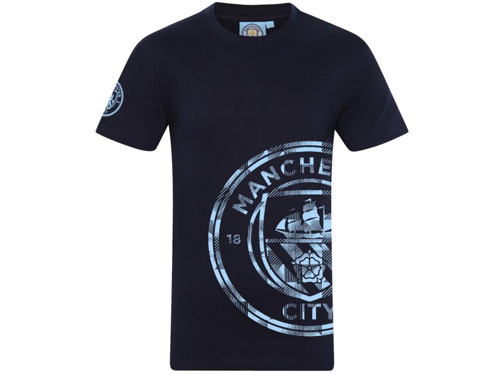 Pánské tričko Manchester City Graphic navy