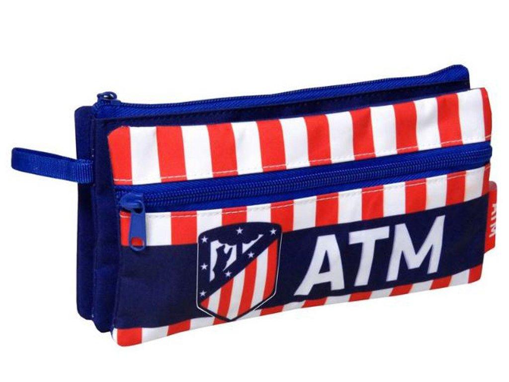 Penál Atletico Madrid členitý