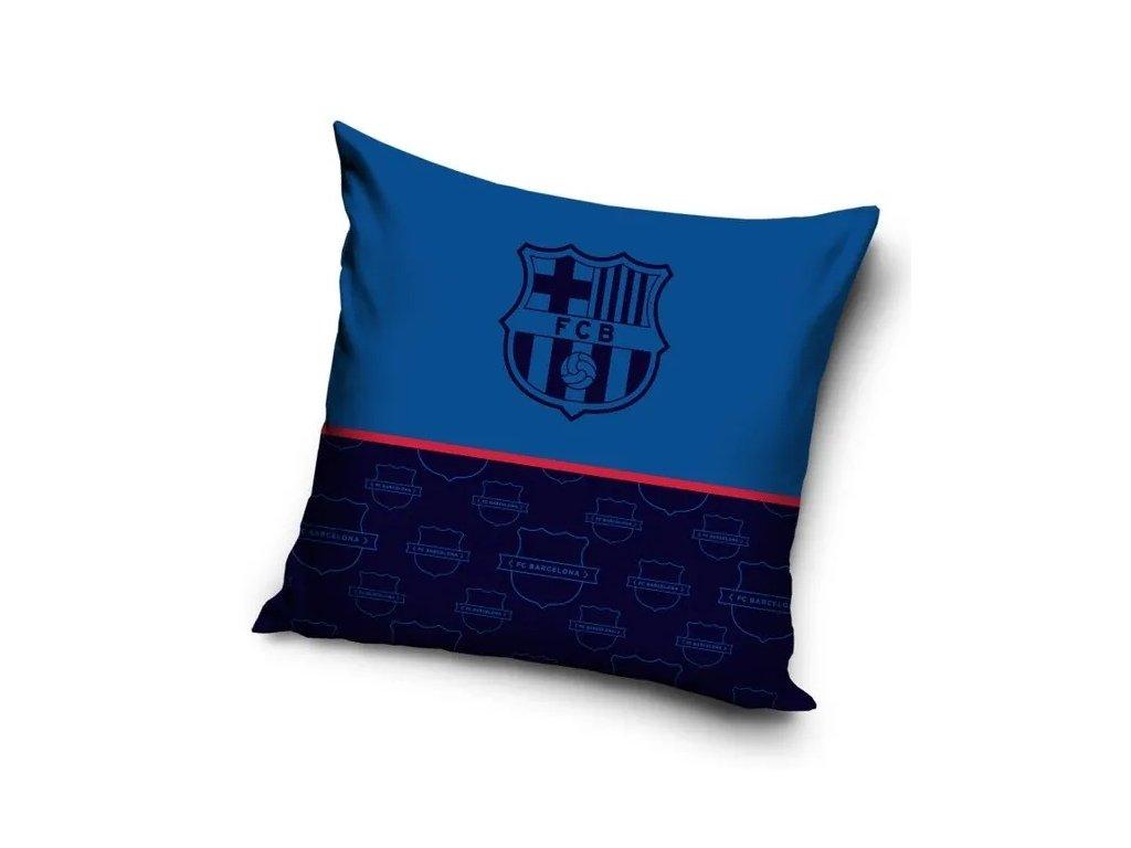 Polštářek FC Barcelona 20 dark blue 40x40 cm