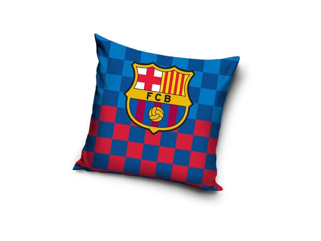 Polštářek FC Barcelona square 20 40x40 cm