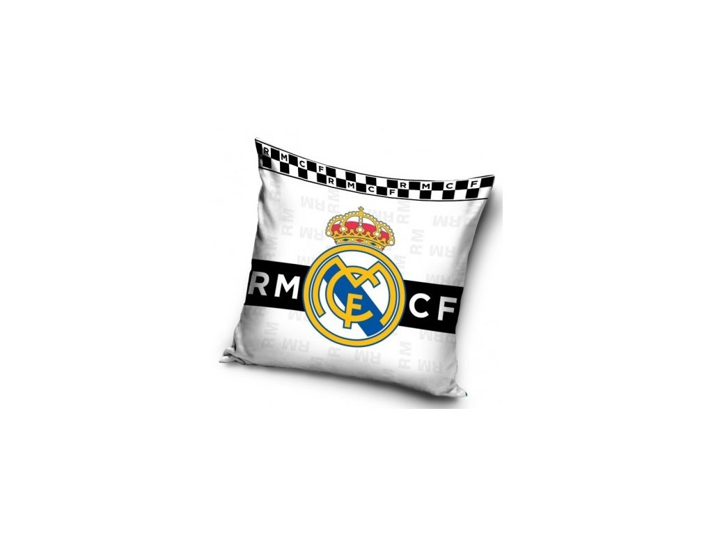 Polštářek Real Madrid 19 BW 40x40 cm