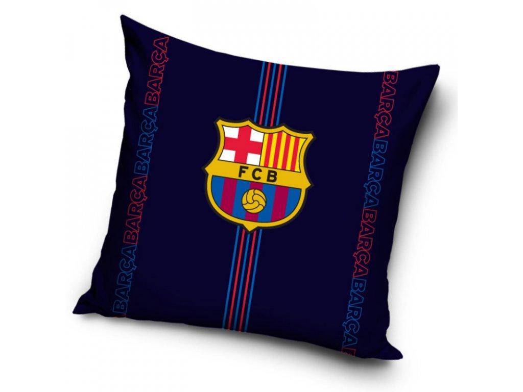 Povlak na polštářek FC Barcelona darkness 40x40 cm