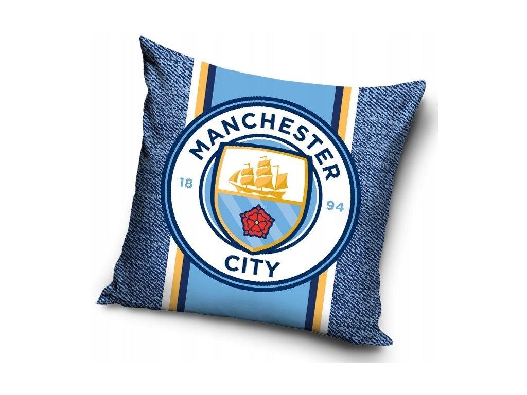 Povlak na polštářek Manchester City 20 crest 40x40cm