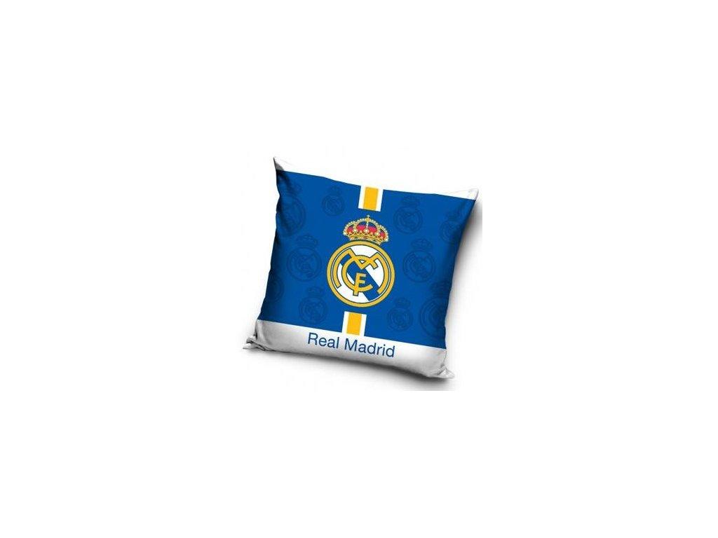 Povlak na polštářek Real Madrid 19 half blue 40x40 cm