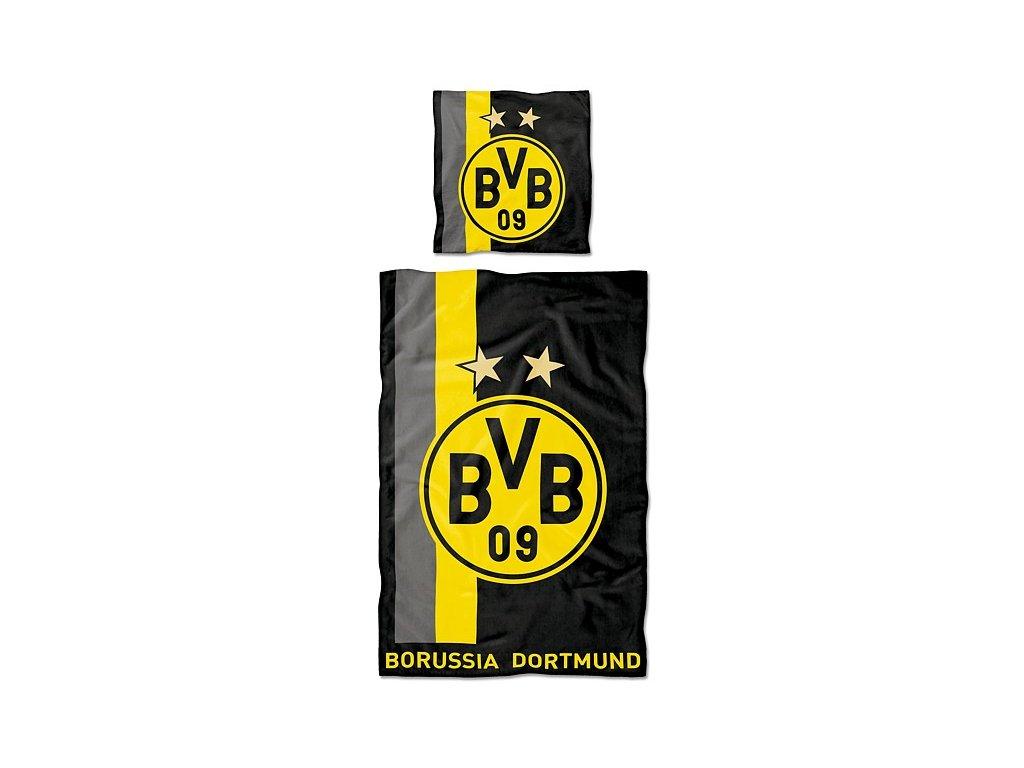 Povlečení Borussia Dortmund stripe