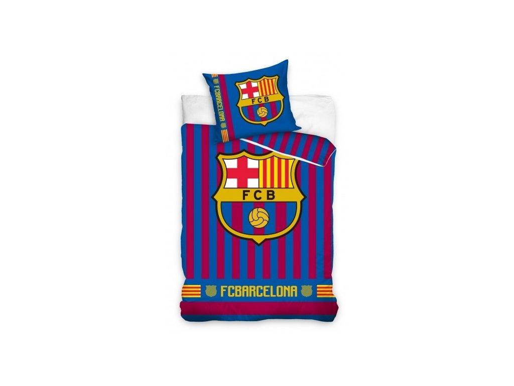 Povlečení FC Barcelona 19 stripes 140/200, 70/80 cm