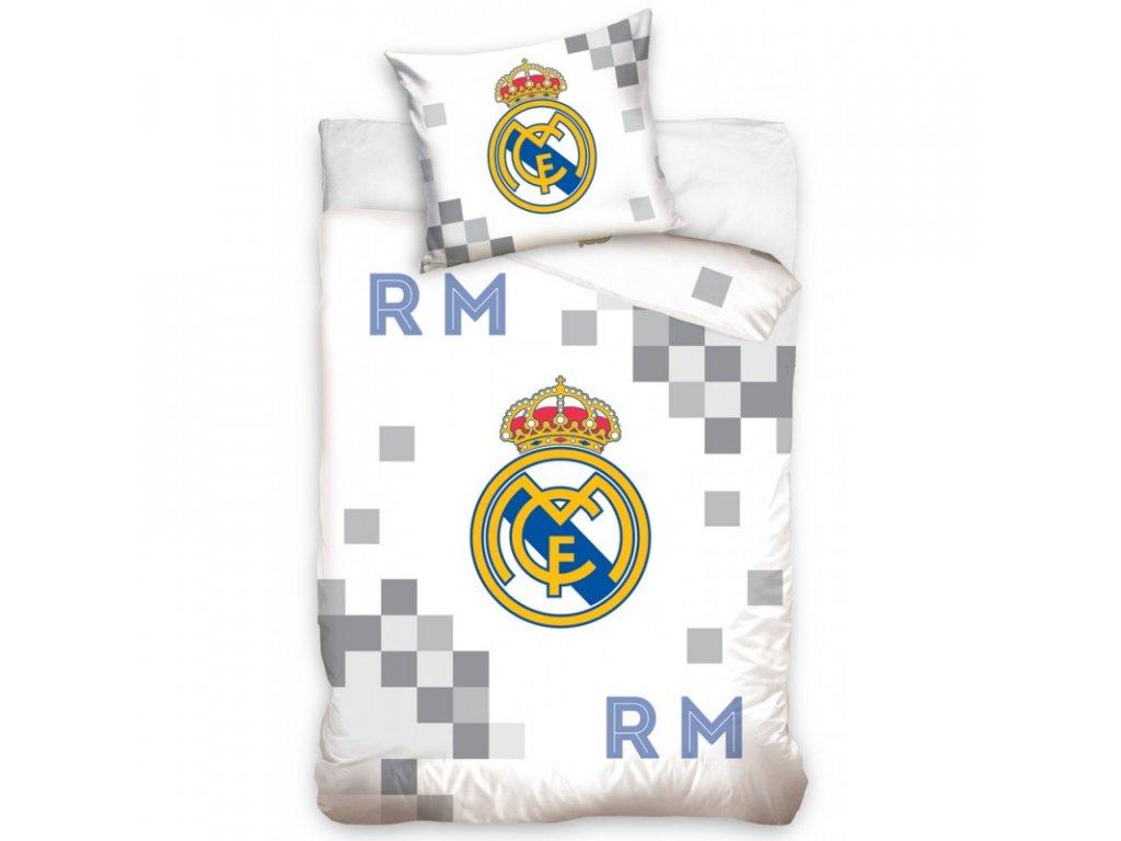 Povlečení Real Madrid 19 Dados Grey 140/200, 70/80 cm