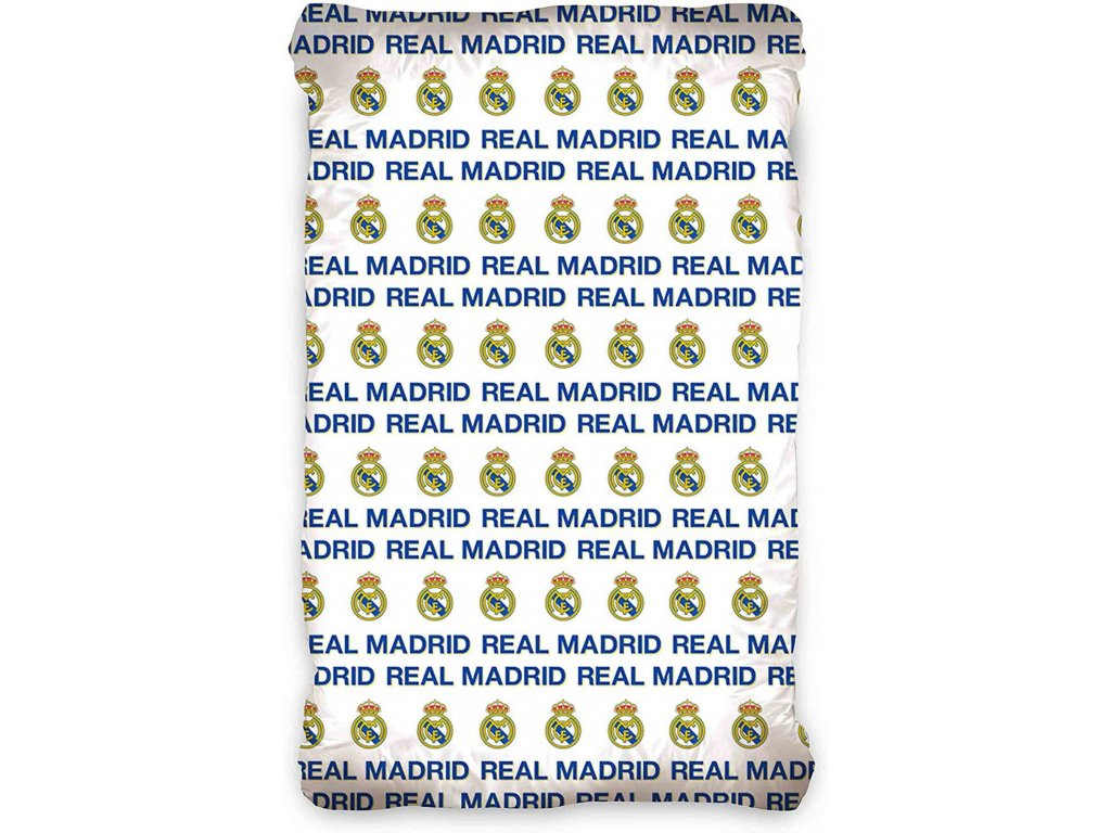 Prostěradlo Real Madrid 20 crest 90x200cm