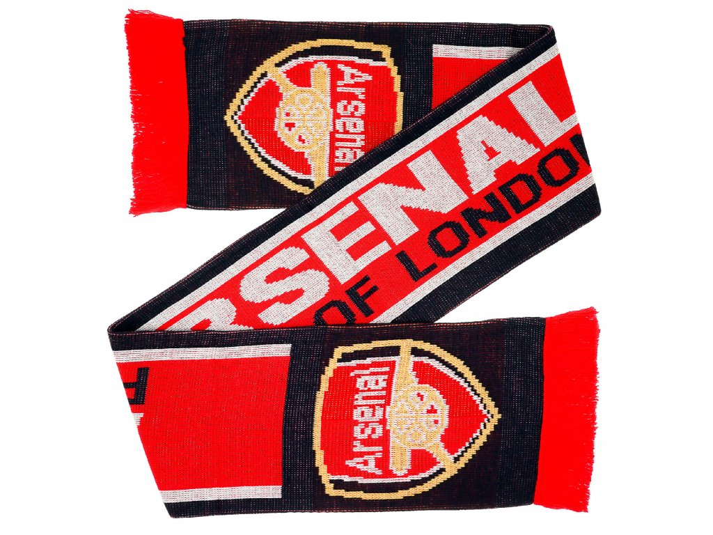 Šála Arsenal FC London 132x19cm