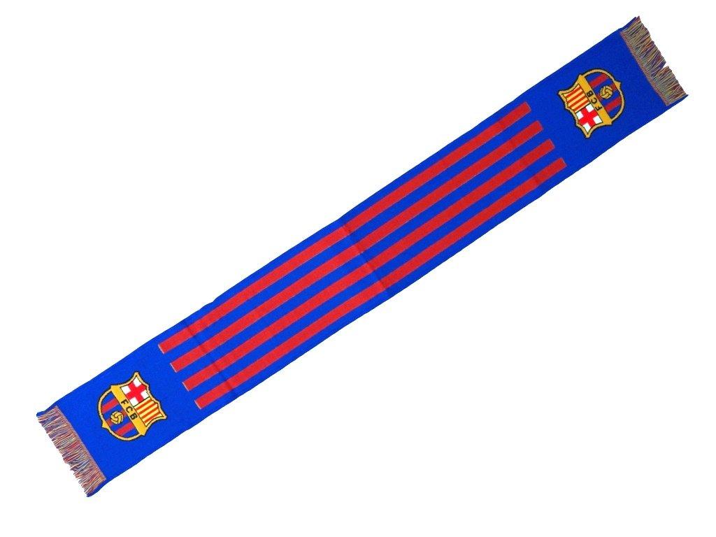 Šála Barcelona FC horizontales 140 x 20 cm