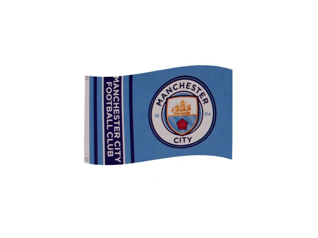 Vlajka Manchester City 19 wm