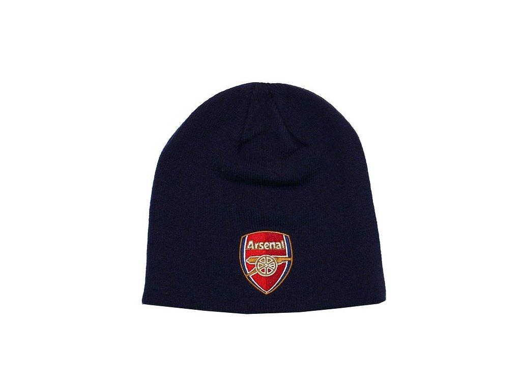 Zimní čepice Arsenal modrá
