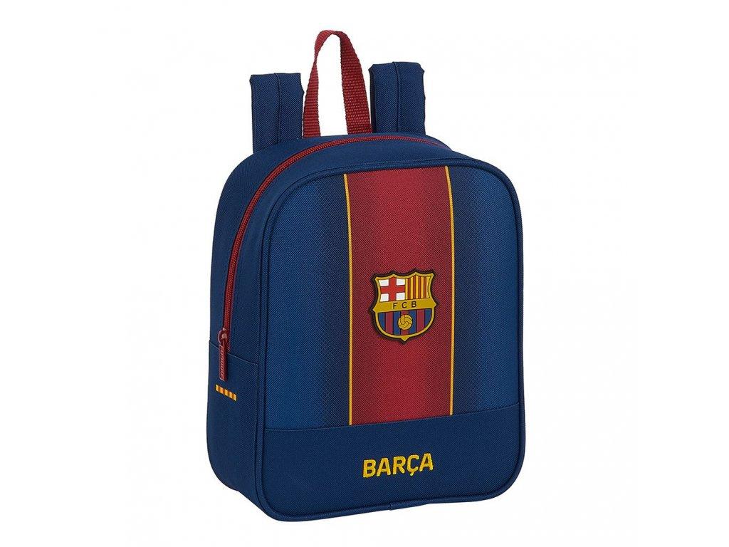 Dětský batoh FC Barcelona: vzor 12029 sezóna 20/21 (objem 6 litrů 27 x 22 x 10 cm) modrý polyester