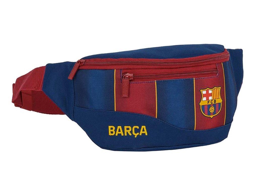Kapsička kolem pasu - ledvinka FC Barcelona: vzor 12029 (23 x 9 x 12 cm) modrá polyester
