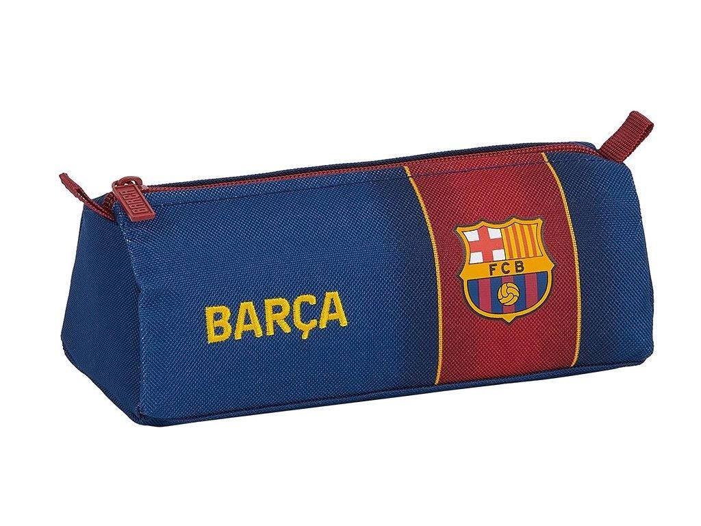 Penál na tužky FC Barcelona: znak 12029 (21 x 7 x 8 cm) polyester