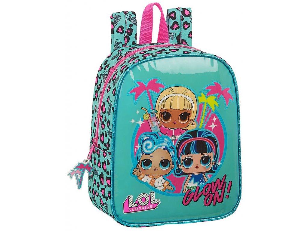 Dětský batoh L.O.L. Surprise: vzor 12047 (objem 6 litrů 27 x 22 x 10 cm) multicolor polyester