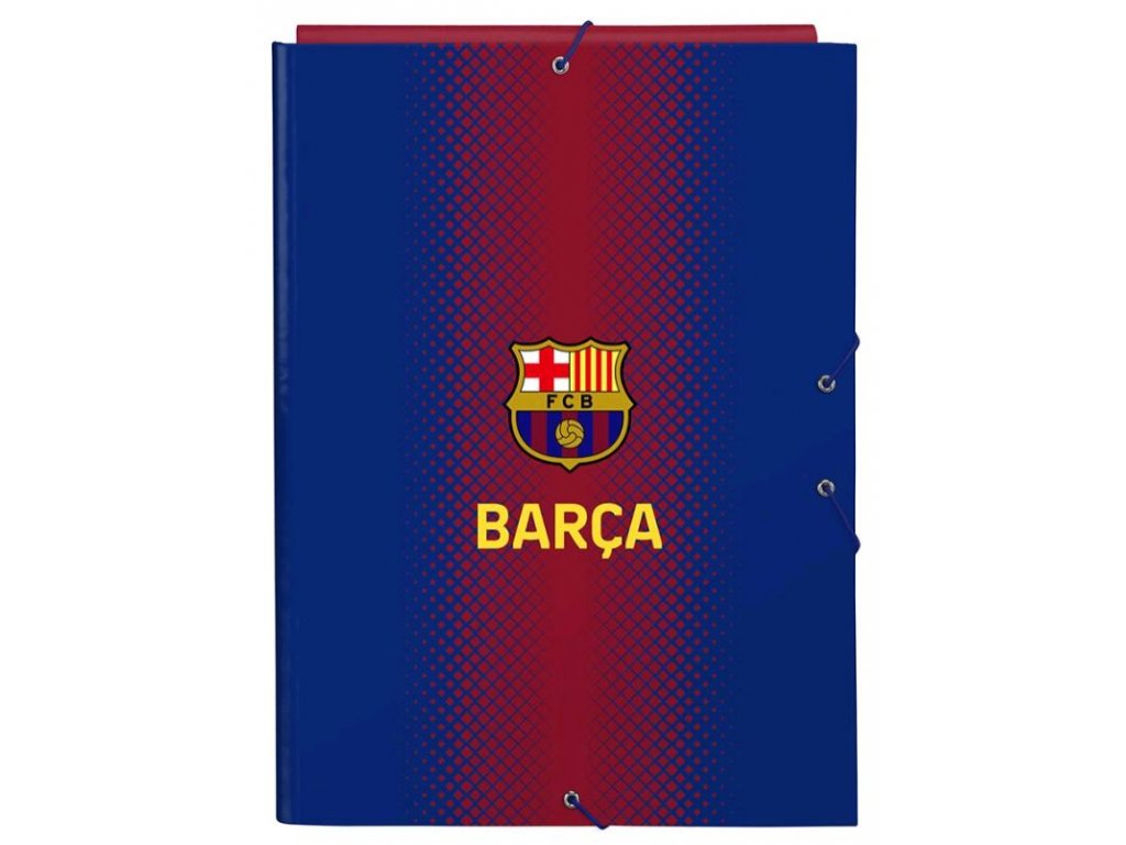 Složka s klopami FC Barcelona: vzor 12029 (A4)