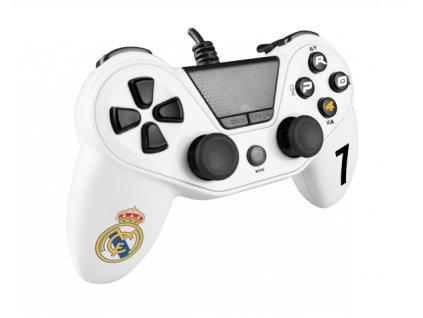 Herní ovladač Real Madrid PS4 / PS3 / PC
