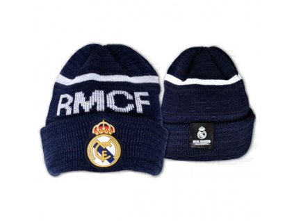Zimní čepice Real Madrid 17 navy
