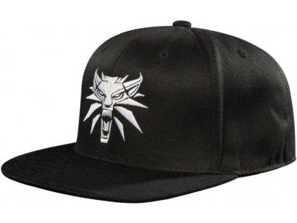 Snapback čepice - kšiltovka The Witcher 3|Zaklínač 3: Logo (nastavitelná) černá