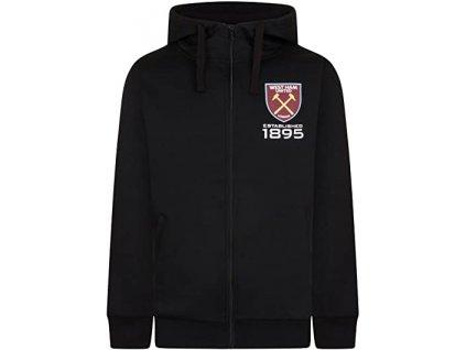 Pánská mikina West Ham United černá