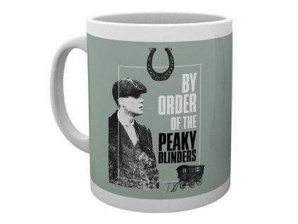Keramický hrnek Peaky Blinders: By Order Of (objem 300 ml) bílý