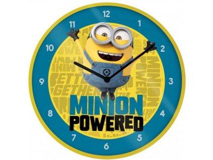 Nástěnné hodiny Minions|Mimoni: The Rise Of Gru (průměr 25 cm)