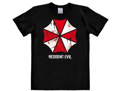Pánské tričko Resident Evil: Umbrella  černé bavlna