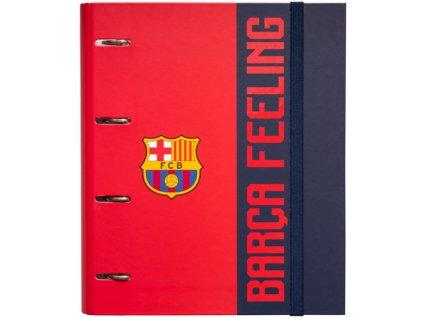 Kroužkový pořadač FC Barcelona: Barca Feeling (28 x 32 x 7 cm)