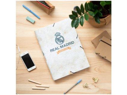 Složka s klopami FC Real Madrid: Vintage Collection (26 x 34 x 2 cm)
