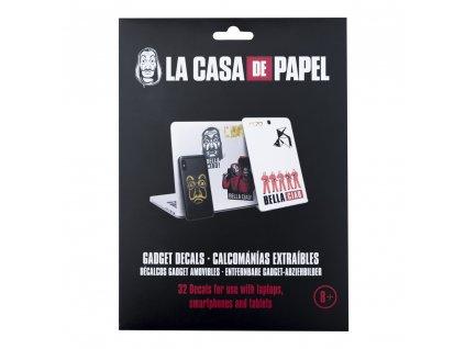 Samolepky La Casa De Papel|Papírový dům: set 4 listů (32 kusů)