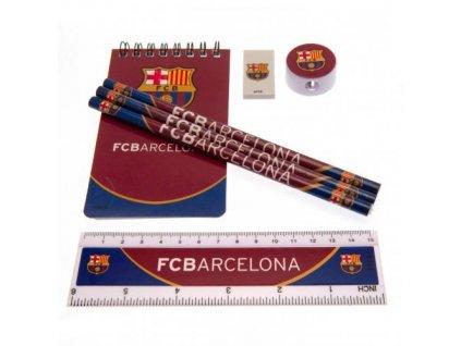 Sada školních pomůcek FC Barcelona: Starter (18 x 25 cm)