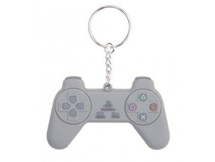 Přívěsek na klíče Playstation: Controller kovový ()