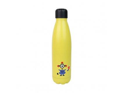 Nerezová láhev na pití Minions|Mimoni: Bee-Do (objem 500 ml)