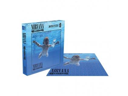Puzzle Nirvana: Nevermind 500 kusů (39 x 39 cm)