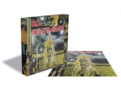 Puzzle Iron Maiden: Iron Maiden Logo 500 kusů (39 x 39 cm)