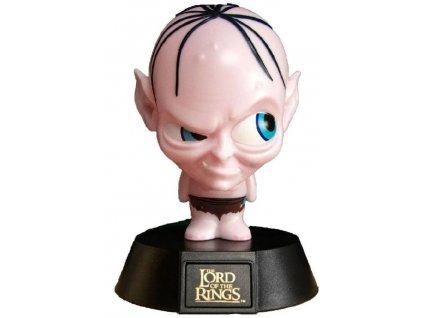 Plastová dekorativní svítící figurka Lord Of The Rings|Pán prstenů: Gollum (výška 10 cm)