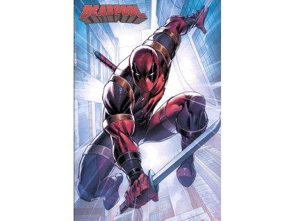 Plakát Marvel Deadpool: Action Pose (61 x 91,5 cm)