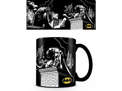 Proměňovací keramický hrnek Dc Comics: Batman (objem 315 ml) černý