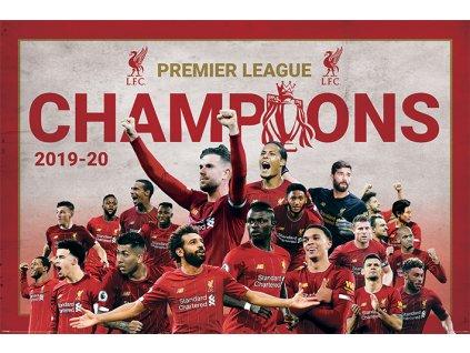 Plakát FC Liverpool: Champions 2020 Montage (61 x 91,5 cm)