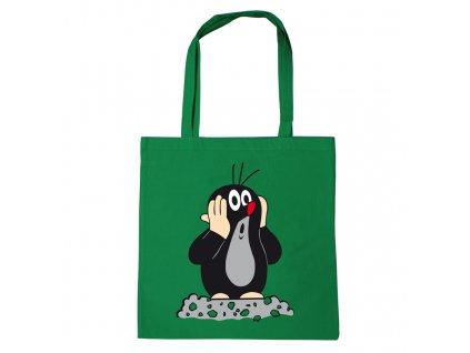 Shopping taška na rameno Krteček: (38 x 42 cm) bavlna