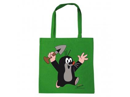 Shopping taška na rameno Krteček: Juhu (38 x 42 cm) bavlna