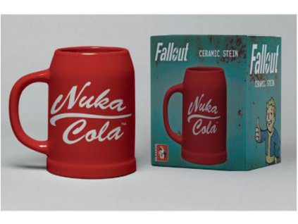 Keramický korbel Fallout: Nuka Cola (objem 500 ml)