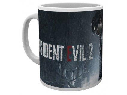Keramický hrnek Resident Evil 2: Rain Key Art (objem 300 ml) bílý